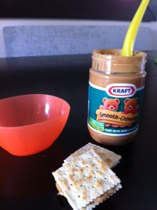 Peanut Butter Cracker Sandwiches
