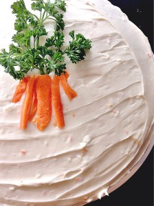 Carrot cake final product