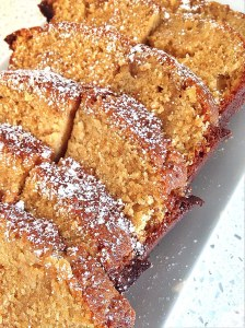 Lemon cake with coconut sugar
