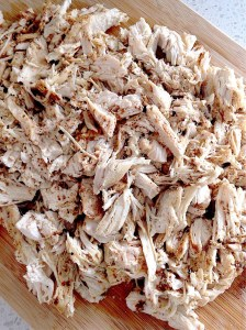 Shredded Chicken - easy and delicious!